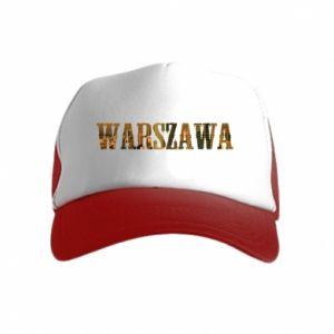 Czapka trucker dziecięca Warszawa