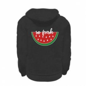 Bluza na zamek dziecięca Watermelon so fresh