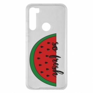 Xiaomi Redmi Note 8 Case Watermelon so fresh