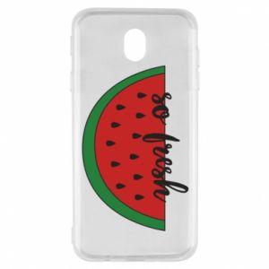 Etui na Samsung J7 2017 Watermelon so fresh
