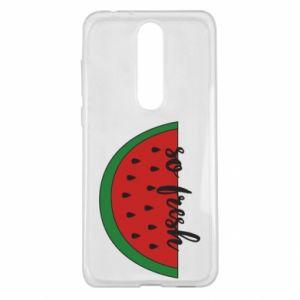 Etui na Nokia 5.1 Plus Watermelon so fresh