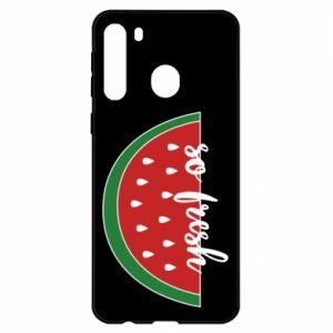 Etui na Samsung A21 Watermelon so fresh