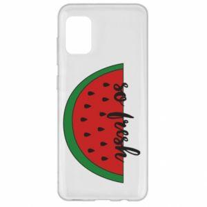 Etui na Samsung A31 Watermelon so fresh