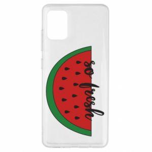 Etui na Samsung A51 Watermelon so fresh