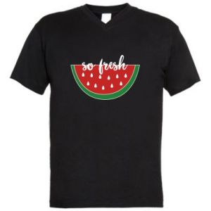 Men's V-neck t-shirt Watermelon so fresh