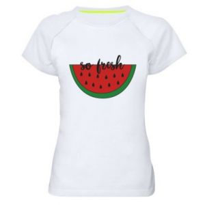 Koszulka sportowa damska Watermelon so fresh