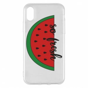 Etui na iPhone X/Xs Watermelon so fresh