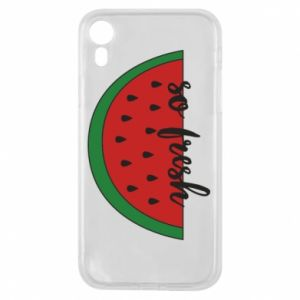 Etui na iPhone XR Watermelon so fresh