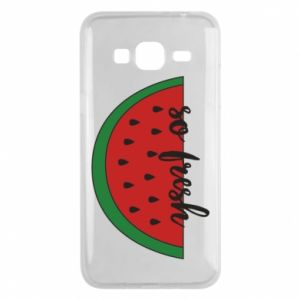 Etui na Samsung J3 2016 Watermelon so fresh