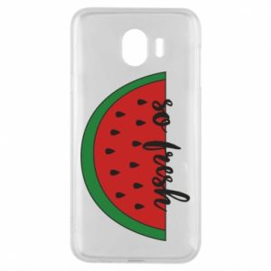 Etui na Samsung J4 Watermelon so fresh