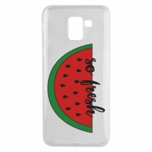 Etui na Samsung J6 Watermelon so fresh