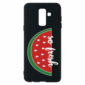 Etui na Samsung A6+ 2018 Watermelon so fresh