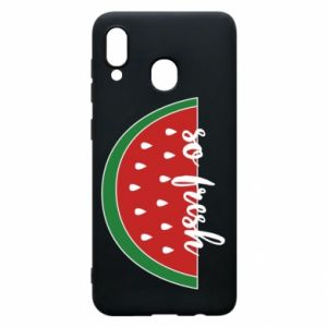 Etui na Samsung A20 Watermelon so fresh