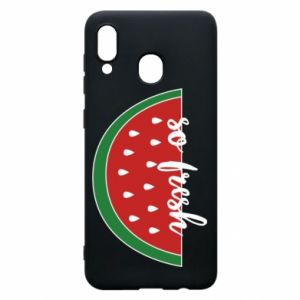 Etui na Samsung A30 Watermelon so fresh