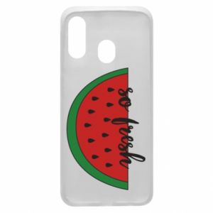 Etui na Samsung A40 Watermelon so fresh