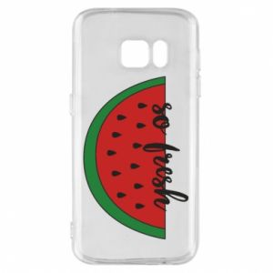 Etui na Samsung S7 Watermelon so fresh