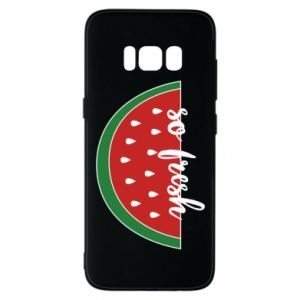 Etui na Samsung S8 Watermelon so fresh