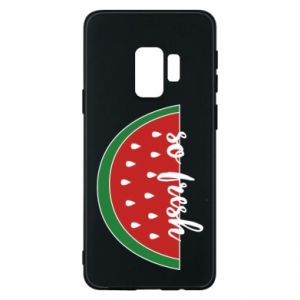 Etui na Samsung S9 Watermelon so fresh