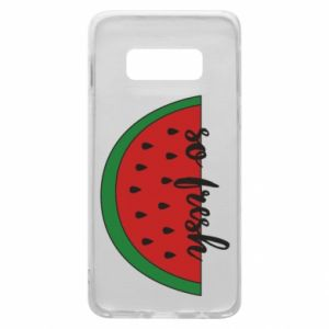 Etui na Samsung S10e Watermelon so fresh