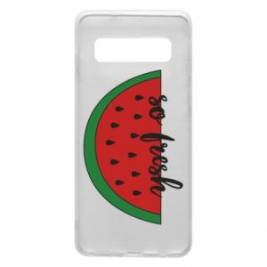 Etui na Samsung S10 Watermelon so fresh