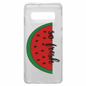 Etui na Samsung S10+ Watermelon so fresh