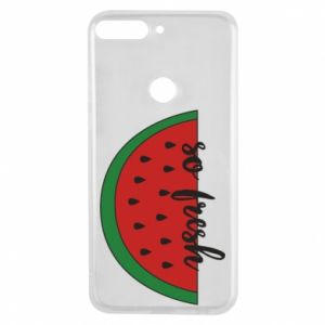 Etui na Huawei Y7 Prime 2018 Watermelon so fresh