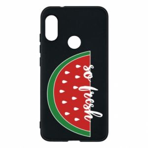 Etui na Mi A2 Lite Watermelon so fresh