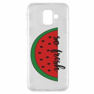 Etui na Samsung A6 2018 Watermelon so fresh