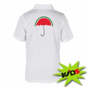 Children's Polo shirts Watermelon umbrella - PrintSalon
