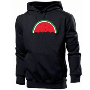 Men's hoodie Watermelon umbrella - PrintSalon