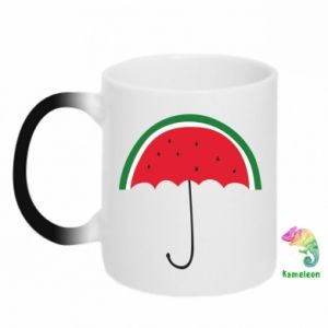 Chameleon mugs Watermelon umbrella - PrintSalon