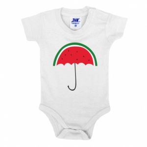 Baby bodysuit Watermelon umbrella - PrintSalon