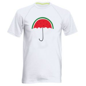 Men's sports t-shirt Watermelon umbrella - PrintSalon