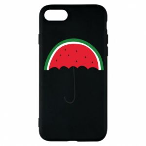 Phone case for iPhone 7 Watermelon umbrella - PrintSalon