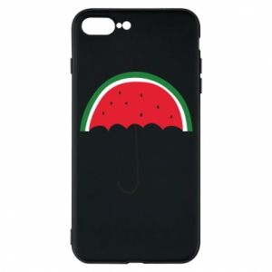Phone case for iPhone 7 Plus Watermelon umbrella - PrintSalon