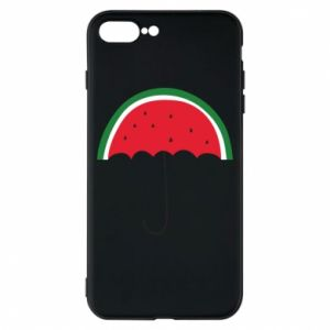 Phone case for iPhone 8 Plus Watermelon umbrella - PrintSalon