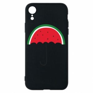 Phone case for iPhone XR Watermelon umbrella - PrintSalon