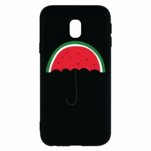 Phone case for Samsung J3 2017 Watermelon umbrella - PrintSalon