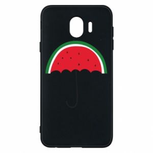 Phone case for Samsung J4 Watermelon umbrella - PrintSalon