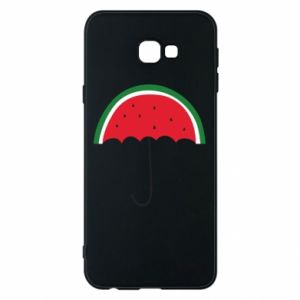 Phone case for Samsung J4 Plus 2018 Watermelon umbrella - PrintSalon