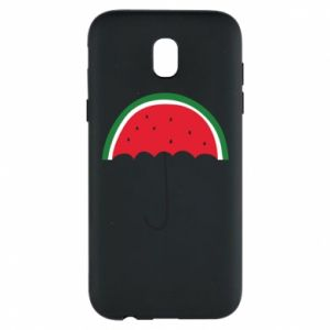 Phone case for Samsung J5 2017 Watermelon umbrella - PrintSalon