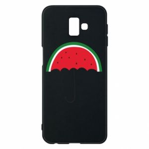 Phone case for Samsung J6 Plus 2018 Watermelon umbrella - PrintSalon