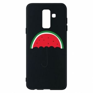 Phone case for Samsung A6+ 2018 Watermelon umbrella - PrintSalon