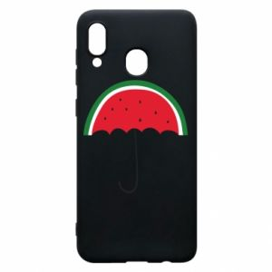 Phone case for Samsung A30 Watermelon umbrella - PrintSalon