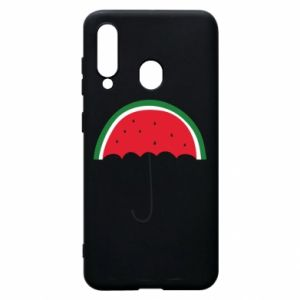 Phone case for Samsung A60 Watermelon umbrella - PrintSalon