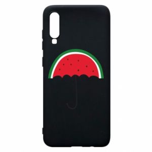 Phone case for Samsung A70 Watermelon umbrella - PrintSalon