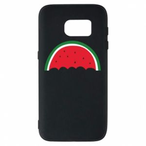 Phone case for Samsung S7 Watermelon umbrella - PrintSalon