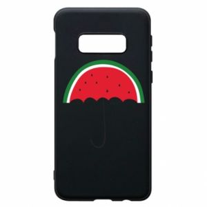 Phone case for Samsung S10e Watermelon umbrella - PrintSalon