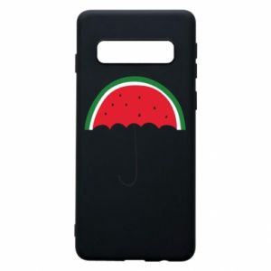 Phone case for Samsung S10 Watermelon umbrella - PrintSalon