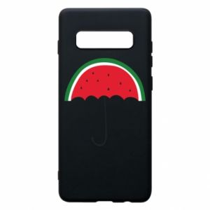 Phone case for Samsung S10+ Watermelon umbrella - PrintSalon